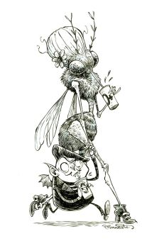 #inktober-October 6th by RobbVision
