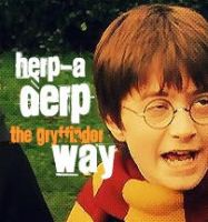 Herpaderp The Gryffindor Way by 13MorbidMouse13