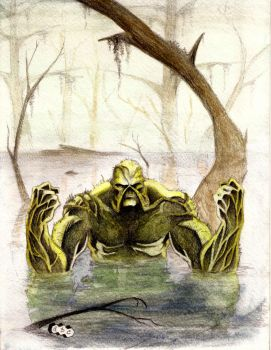 Swamp Thing by acarabet