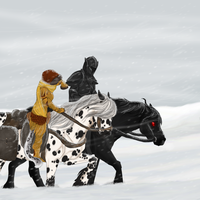 The Snow is A Spy by Emii-M