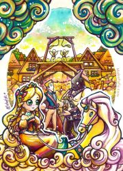 .:Grimm Brothers - The Golden Bird :. by Mako-Fufu