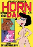Susan SwivelHips Horn Dawg Magazine Review 1969 by sethereid