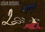 Lesser Beasties by Morgoth883