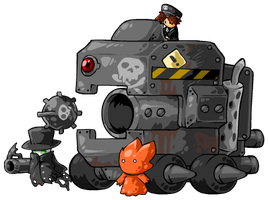 Giant Car by KupoGames