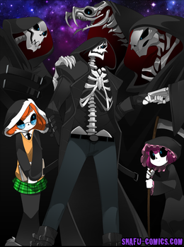 Welcome to the Dead Club by bleedman