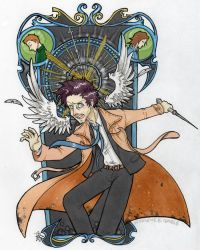 SPN - fighting for the Winchesters by woodooferret