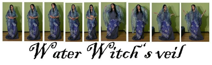 Water Witch's veil by syccas-stock