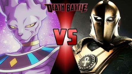 Beerus vs. Dr. Fate by OmnicidalClown1992