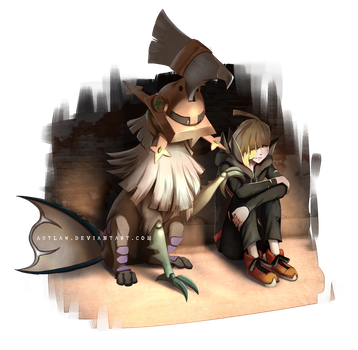 Gladion and Type Null by Autlaw