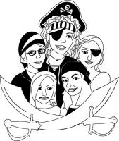 Pirate Soc by Drownsindreams