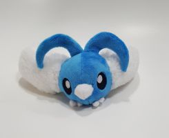 Pokemon - Swablu custom plush