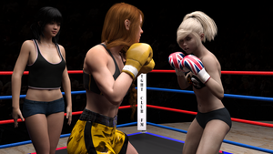 Lacie vs Cassie 01 by suzukishinji