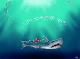Shark hammock by canerator
