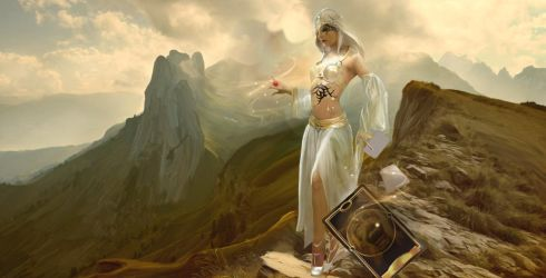 Goddess On The Mountain by liquidd-1