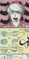 AT Bookmarker: Adventure with Marshall Lee by AyaGina