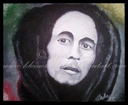 Bob Marley Finished by KleinerSchelm