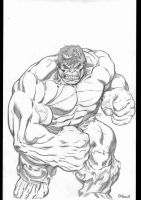Hulk Commission by EdMcGuinness