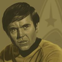 Star Trek TOS portrait series 07 - Chekov - Koenig by jadamfox