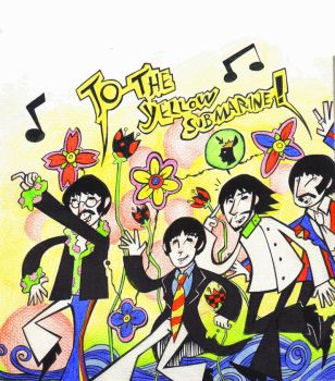 To the Yellow Submarine by Jenra-the-hh