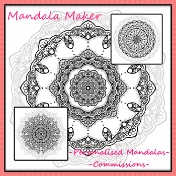 Personalised Mandala - Commission Info 2017 by Marce3