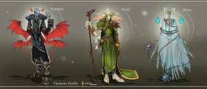 Commission: Fantasy Designs by Hassly