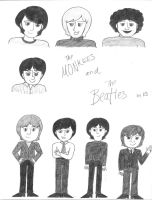 The Monkees And The Beatles by girlwitharubbersoul