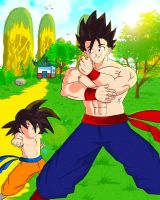 Training with Big Brother by Goldenboy91