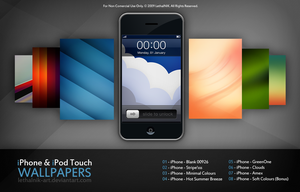 iPhone iPod Touch Wallpapers by lethalNIK-ART