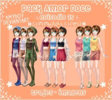 Pack Amor Doce - Episodio 35 CORES // AmyDo7 by AmyDo7