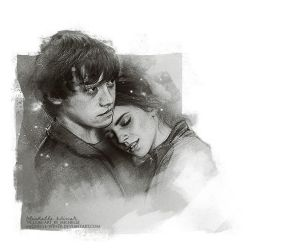 Ron and Hermione (for Valentine's day) by Michelle-Winer