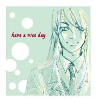 OC Rough : Have a Nice Day by comichub