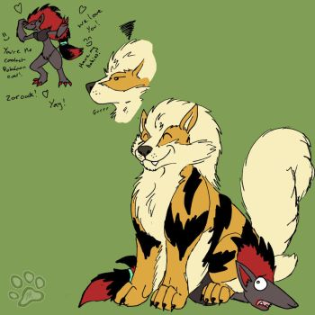 Arcanine Disapproves by jesslyra