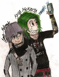Rapture Academy Oc's: Corey and Kyle Mckenzie by teambrownie1