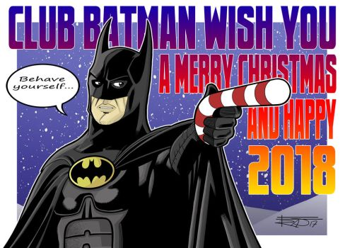 Club Batman wish you a Merry Christmas! :) by Club-Batman