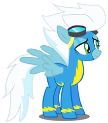 Wonderbolt Echo Fleetfoot for Coco- Puffie by blingingjak