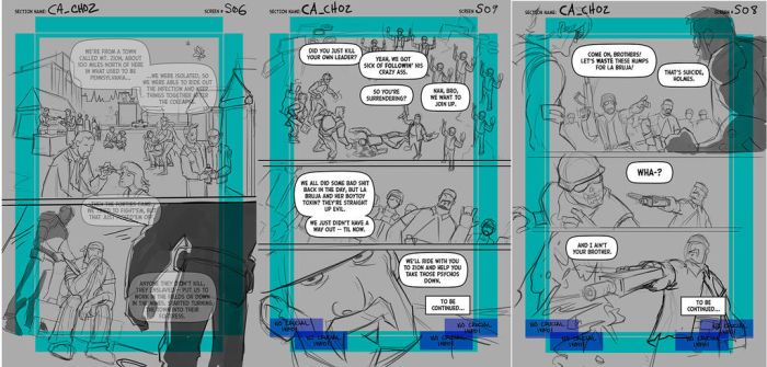 Comic Project Chapter 2 Pages 6, 8, 9 Layouts Only by Hominids