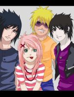 Team 7: Konoha's rock band II by xmissxmiseryx