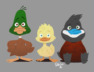 Ducks by Sibsy