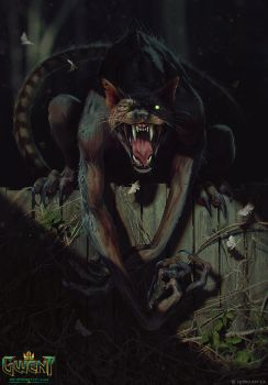 Werecat by akreon