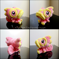 Pink Kecleon Pokedoll