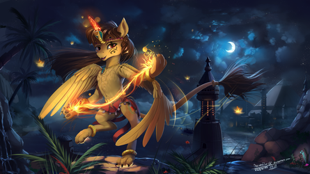 Ancient fire dance by DiscordTheGE