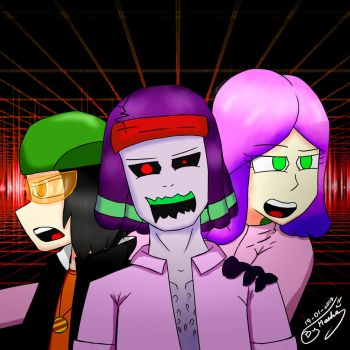 Trio anormal by UnaMasheDraw