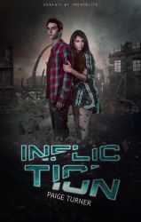 Infliction Wattpad Bookcover by Auberginenqueen