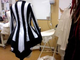Beetlejuice Jacket by KittensAndCupcakes