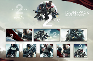 Destiny 2 - Icon-Pack by Crussong