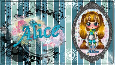 Alice wallpaper by StrawberryCakeBunny