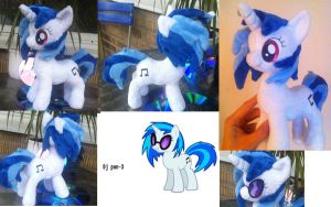 11 inch Dj pony / vinyl scratch by Epicrainbowcrafts