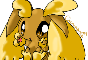 Lopunny in Photoshop