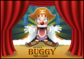 Buggy The Clown by VickyInu