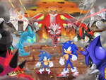 Sonic Forces by Metal-M
